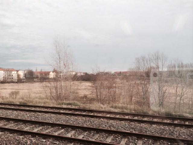 Sicht aus der S-Bahn