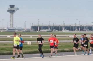 Der neue Flughafen während des Airportruns im April(Foto: Günter Wicker / Flughafen Berlin Brandenburg)