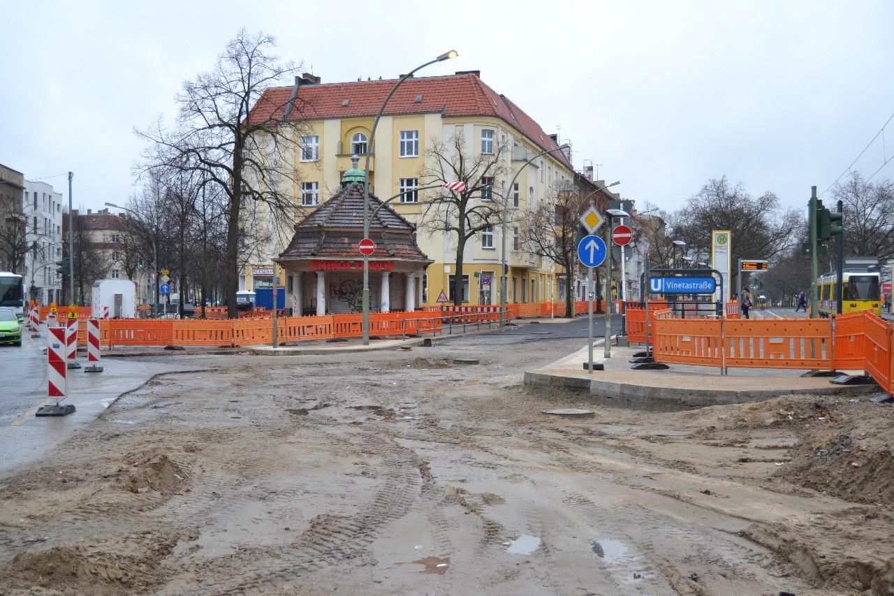 Kreuzung Mühlen-/ Ecke Berliner Straße