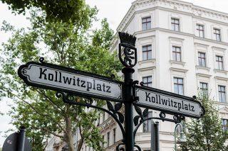Berlin_Kollwitzplatz_Straßenschild