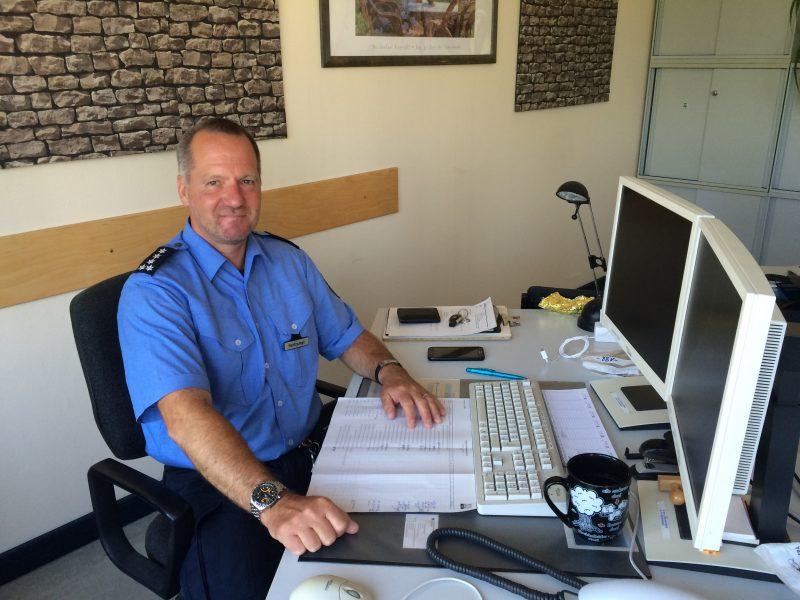 Michael Hartrumpf in seinem Büro in der Hadlichstraße